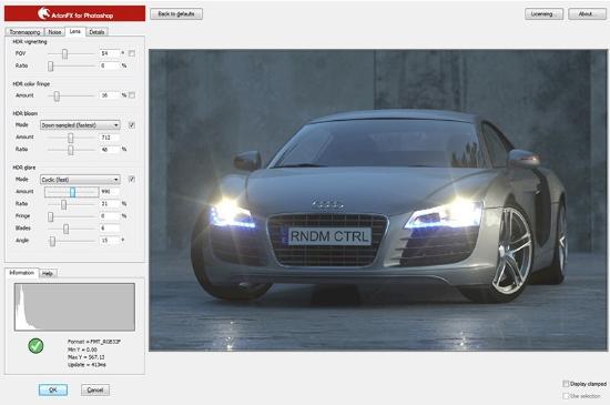 Hantera HDR-bilddata i Photoshop