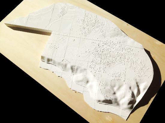 BEETHEFIRST 3D-printar skalmodell av terräng