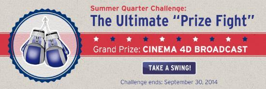 Vinn en Cinema 4D Broadcast-licens!