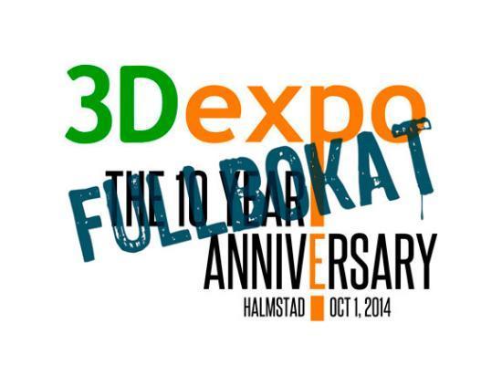 Fina priser på 3Dexpo – ta med ditt visitkort!