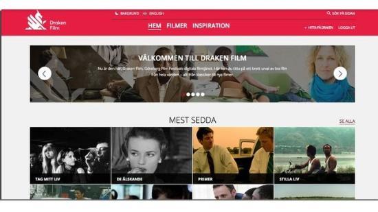 Filmer ur Göteborgs filmfestivalen på nätet
