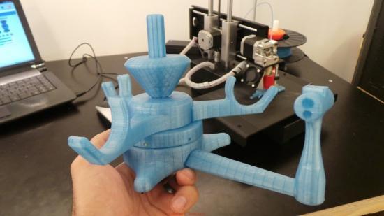 Dagens 3D-print – Printrbot skapar spoolhållare