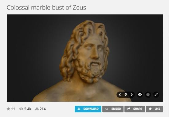 Dagens 3D-print – Kopiera föremål från The British Museum
