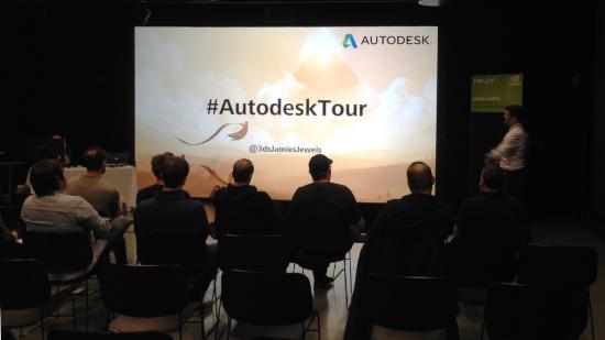 Autodesks Norden-turné i Göteborg idag!