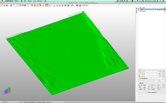 Dagens 3D-print – Terrängkartor i 3D från Google Maps