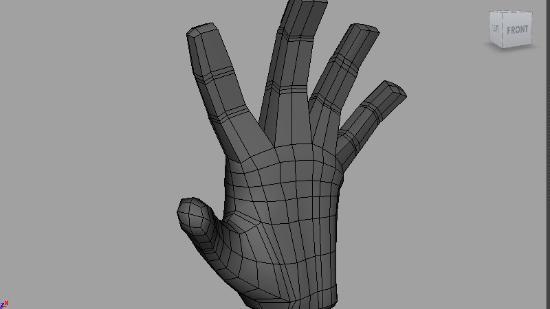 Modellera en hand i 3D