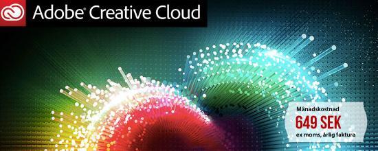 Sista veckan med upp till 40% rabatt på Creative Cloud for Teams!