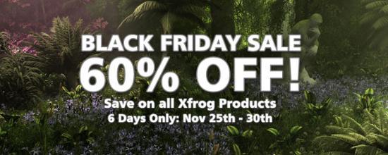 Black Friday Sale på alla Xfrog-produkter!