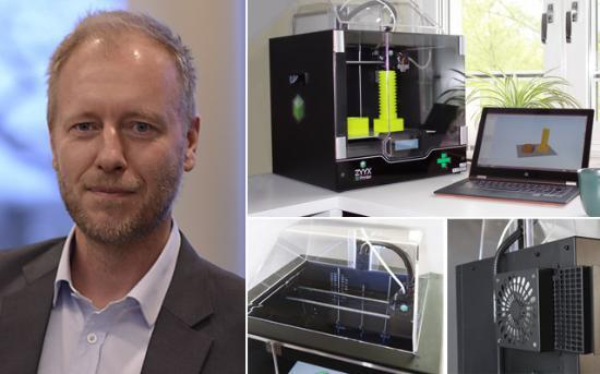 Nya bilder på 3D-utskrifter gjorda med Printrbot