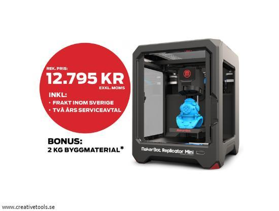 Experten: Satsa på 3D-printing!