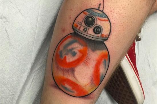 En Star Wars VII-tatuering efter första trailern!