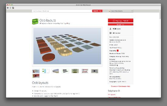 """Nytt i SketchUp: """"Paid Extensions"""""""