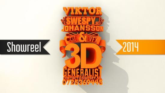 """Viktor """"Swespy"""" Johansson – showreel 2014"""
