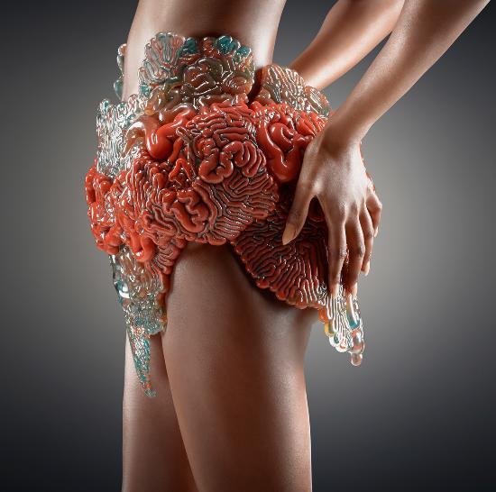 Häpnadsväckande vackra organiska 3D-modeller