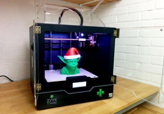 Nick Lievendag tar sig en titt på ZYYX 3D-skrivare