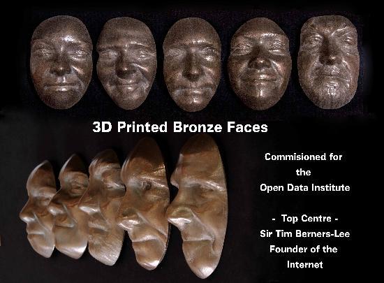 Dagens 3D-print – Bronsbyst