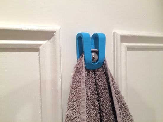Smart 3D-printad lösning för handdukar