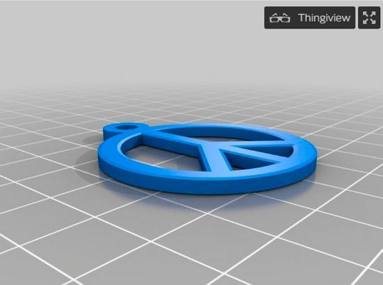Dagens 3D-print – örhängen för 80-talsfesten