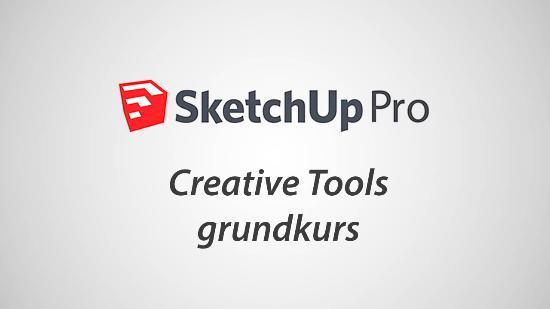 Sista chansen! Grundkurs i SketchUp Pro imorgon!