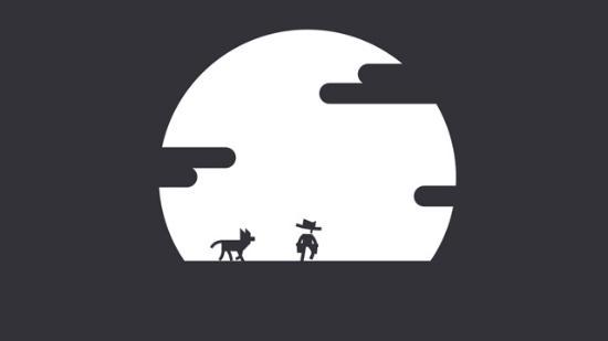 Underbar animerad reklamfilm för spel
