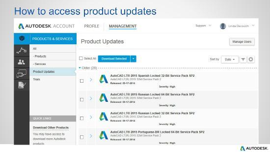 Lär dig om Autodesk Account!
