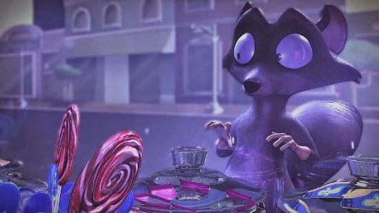 Tvättbjörnen Baxter – animerad kortfilm