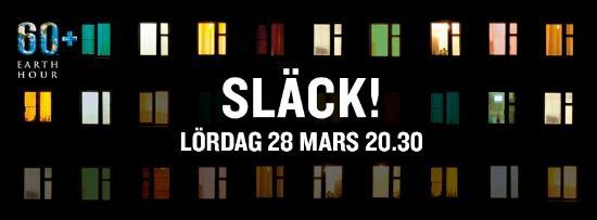 Missa inte Earth Hour på lördag kväll!