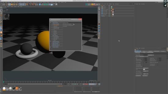 Ställ in Multipass i VrayForC4D för compositing