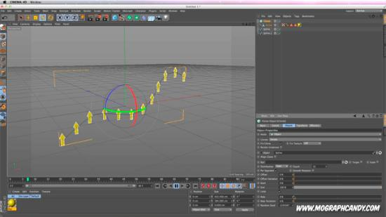 Infographics med MoGraph i Cinema 4D