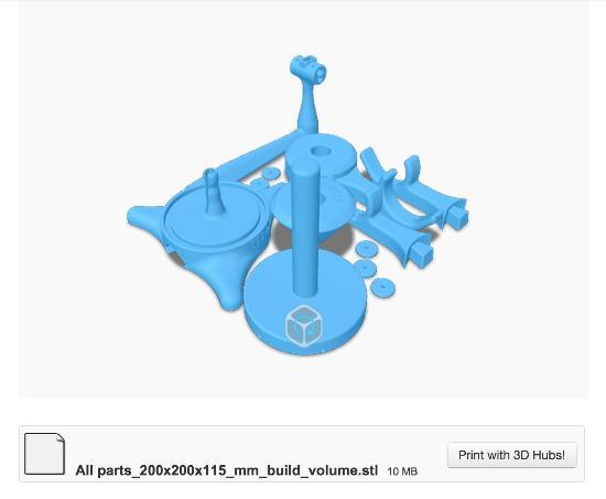 Dagens 3D-print – Rendera i Keyshot med 3D-printlager