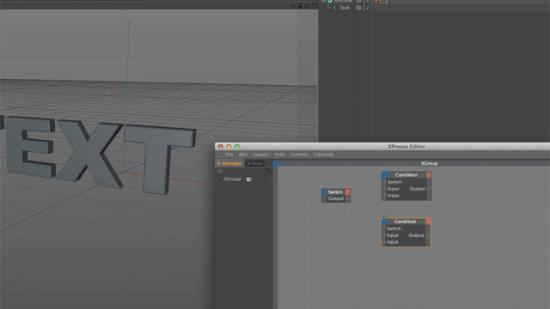 Använd XPresso Switch-noden i Cinema 4D