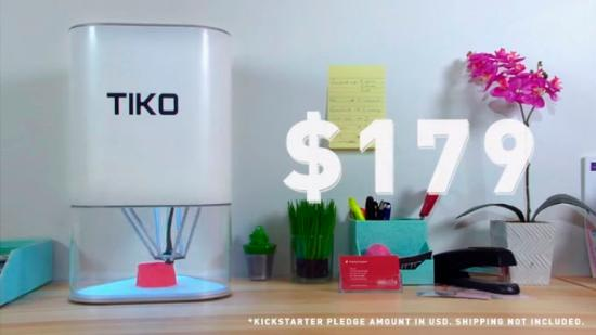 Tiko – en ny sorts 3D-skrivare till lågt pris