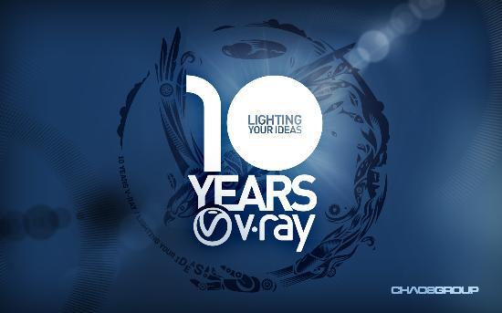 Chaos Group firar 10 år med fina erbjudanden