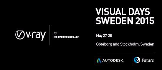 Autodesk + Chaos Group i Göteborg och Stockholm!