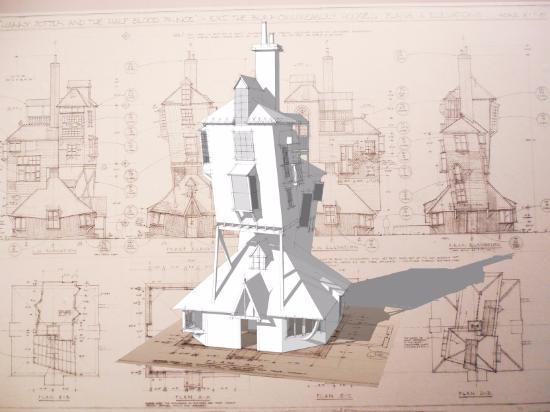Bygg ett hus från Harry Potter i SketchUp