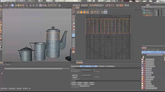 Lär dig mer om UV-editering  i BodyPaint 3D