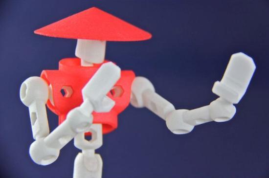 ModiBot – 3D-printade karaktärer