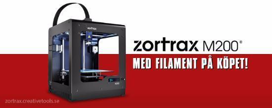 Introduktionserbjudande på Zortrax M200!