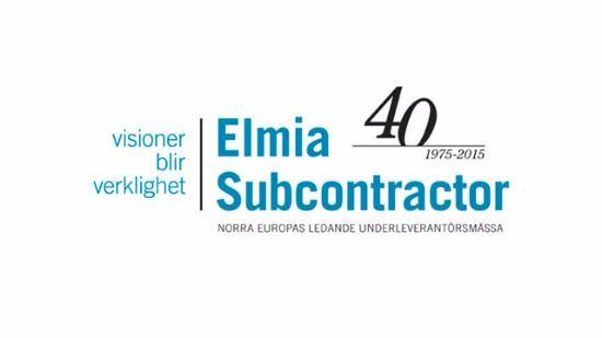 Vi bjuder på entrén till Elmia den 10-13 nov!