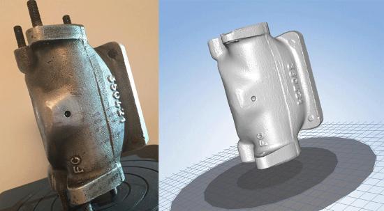 Einscan-S – Kunders 3D-skanningar