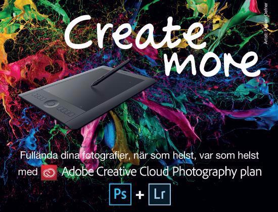 Köp Wacom-platta – få 1 års Adobe CC Photography Plan på köpet!