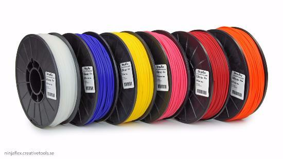 Köp ett sexpack – med NinjaFlex-filament!