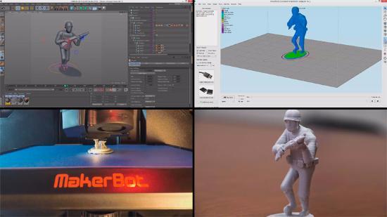 Lär dig 3D-printa en Cinema 4D-modell