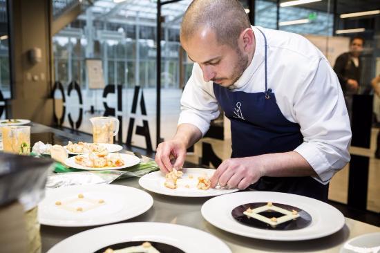 Första restaurangen med 3D-printad mat