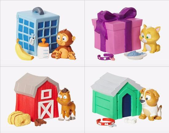 Dagens 3D-print – 10 nya 3D-utskrivna leksaker från MakerBot