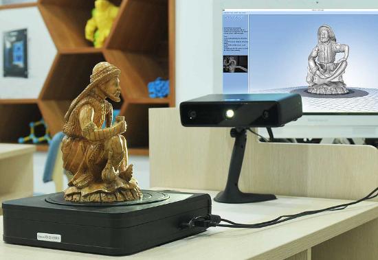 Lär dig 3D-skanna större objekt i EinScan-S