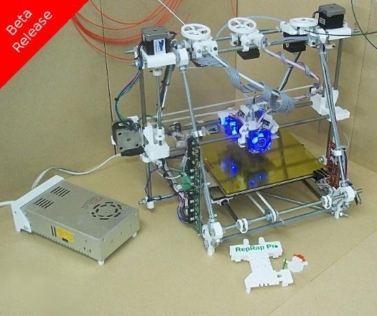Färguppgradering för RepRapPro Mendel 3D-skrivare