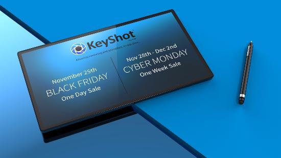 Black Friday: Rabatt på KeyShot 6 + fri uppgradering till version 7