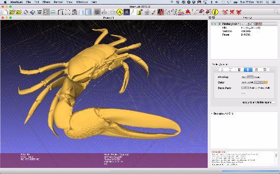 Ladda hem högupplösta 3D-skanningar
