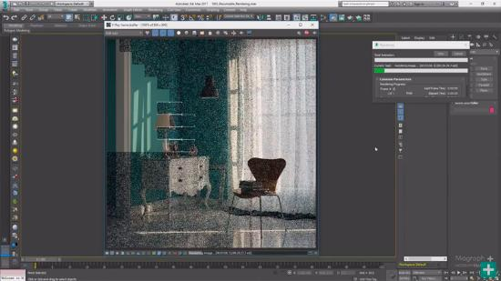 Rendering pausas i nya V-Ray 3.5 for 3ds Max